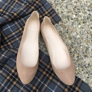 Leather Flats by Nine West